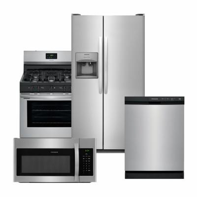 Frigidaire Stainless Steel Package with Front Control Dishwasher
