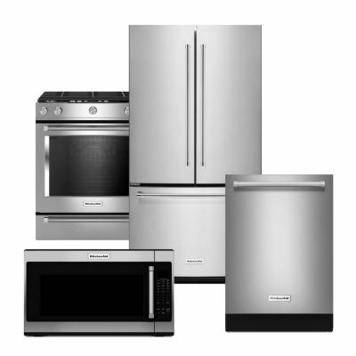 Kitchenaid Stainless Steel Package With Counter Depth