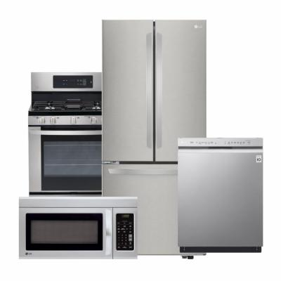 LG Electronics LG Stainless Steel Finish Package
