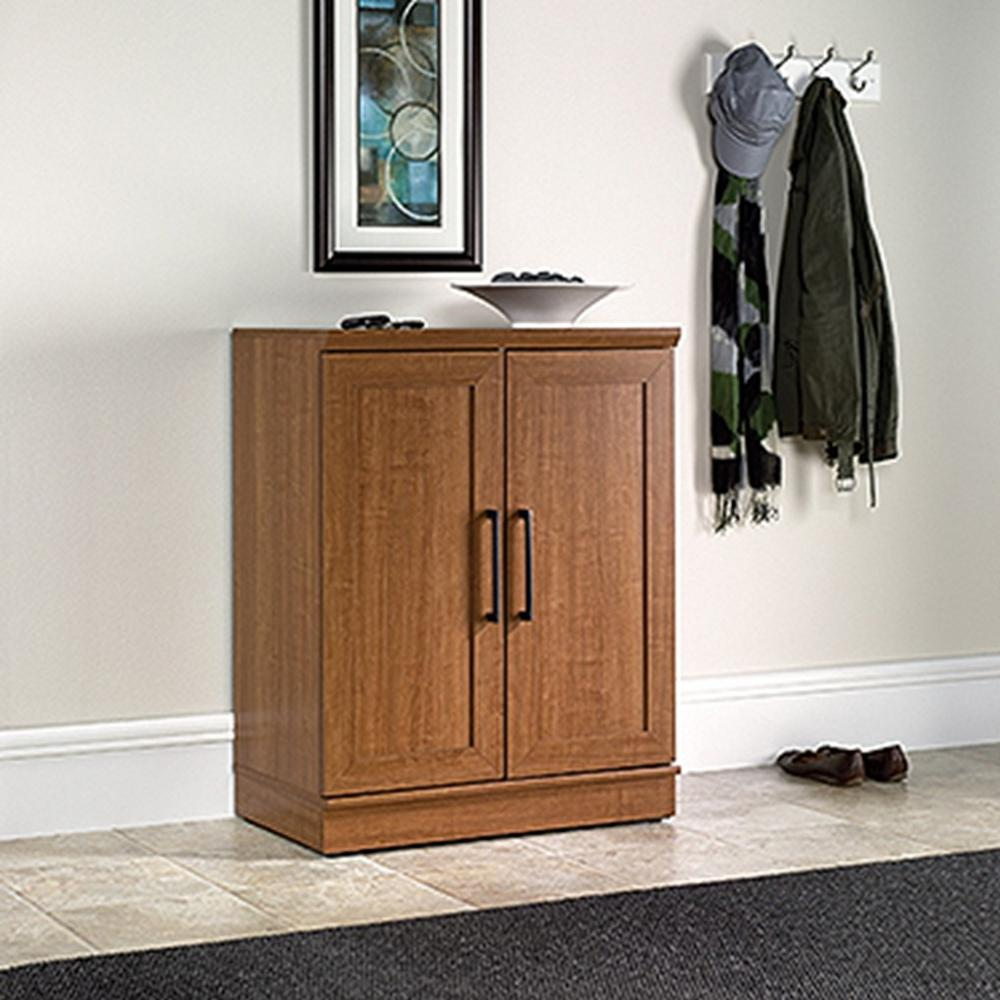 Home Plus Furniture: SAUDER Home Plus Sienna Oak Storage Cabinet-411967