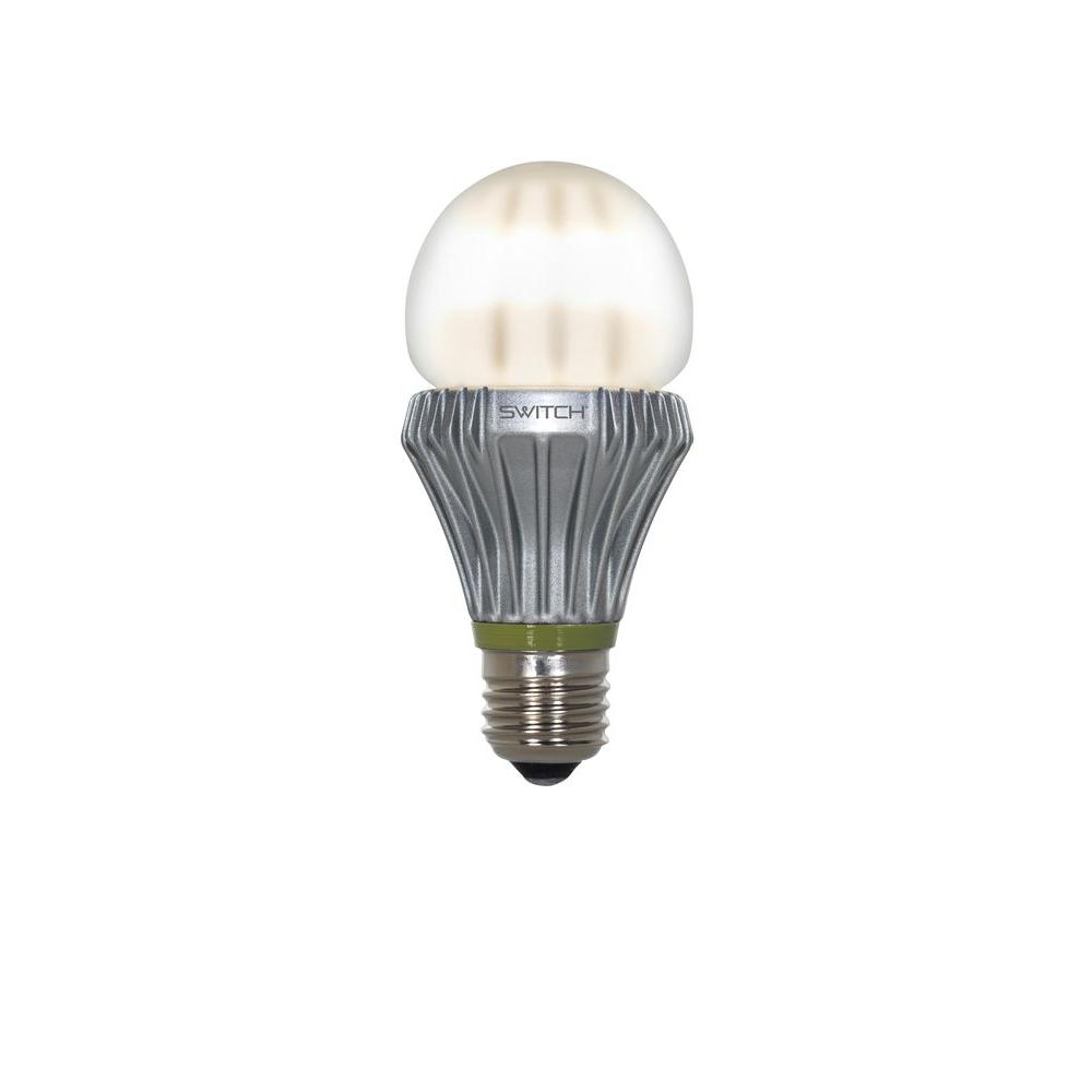SWITCH 100W Equivalent Bright White  A21 Frosted LED Light Bulb