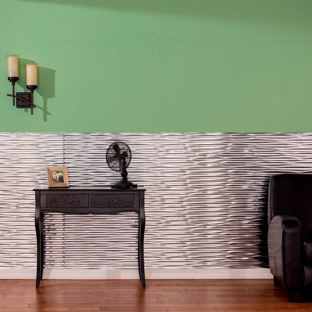 Fasade Dunes Horizontal 96 in. x 48 in. Decorative Wall Panel