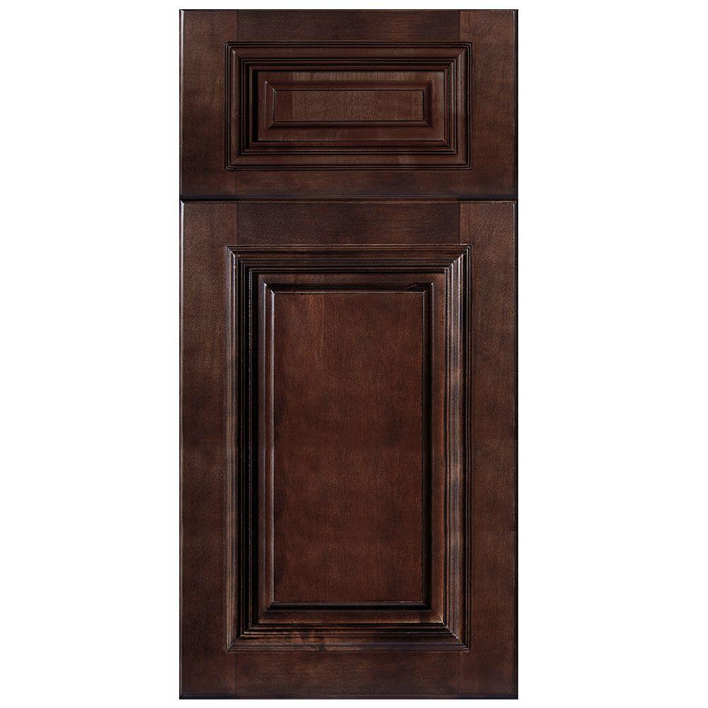 Home Decorators Collection 13x13x0.75 in. Somerset Assembled Cabinet Sample Door