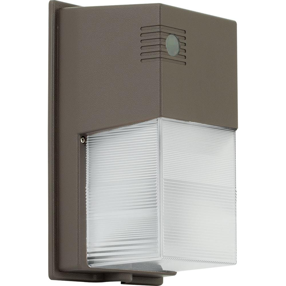 PCOMP Collection Bronze Outdoor Integrated LED Wall Pack Light