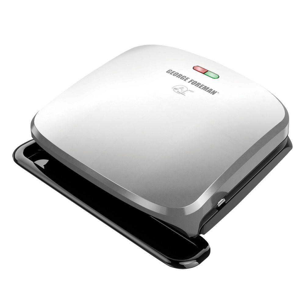 George foreman indoor grill grp3060p the home depot - George foreman replacement grill plates ...