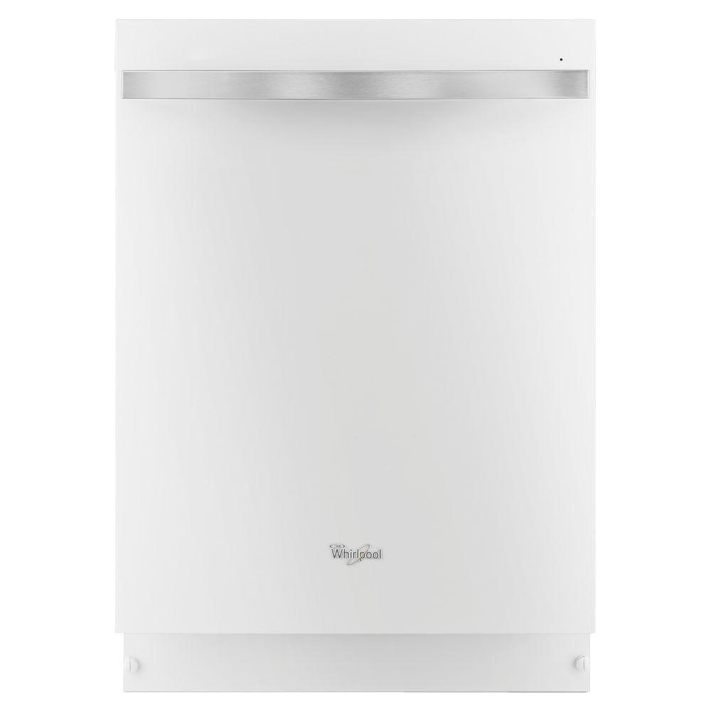 Whirlpool Gold Series Top Control Dishwasher in White Ice with Silverware Spray