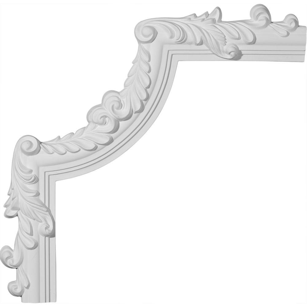 15 in. x 3/4 in. x 15 in. Hillsborough Panel Moulding