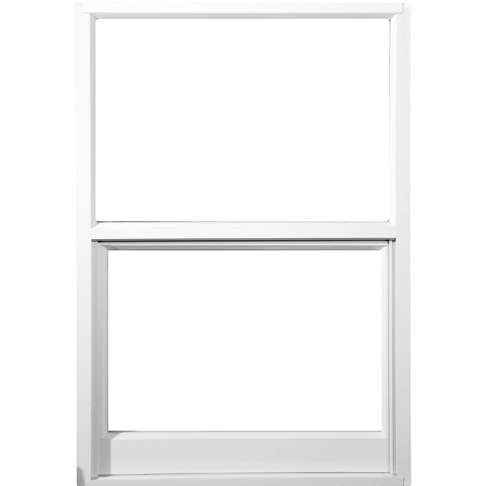 Larson 32 In X 63 In 2 Track Double Hung Storm Aluminum