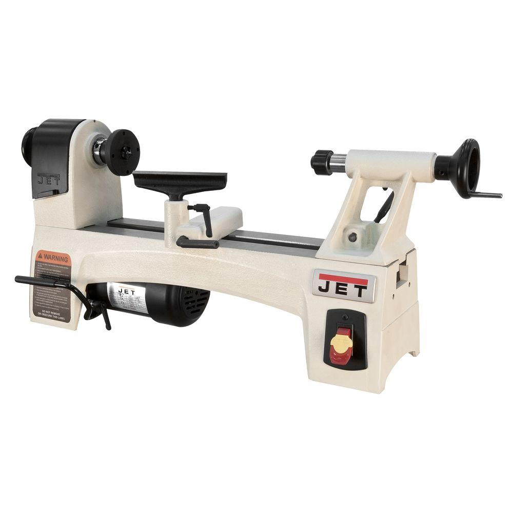 1/2 HP 10 in. x 15 in. Wood Lathe, 6-Speed, 115-Volt,