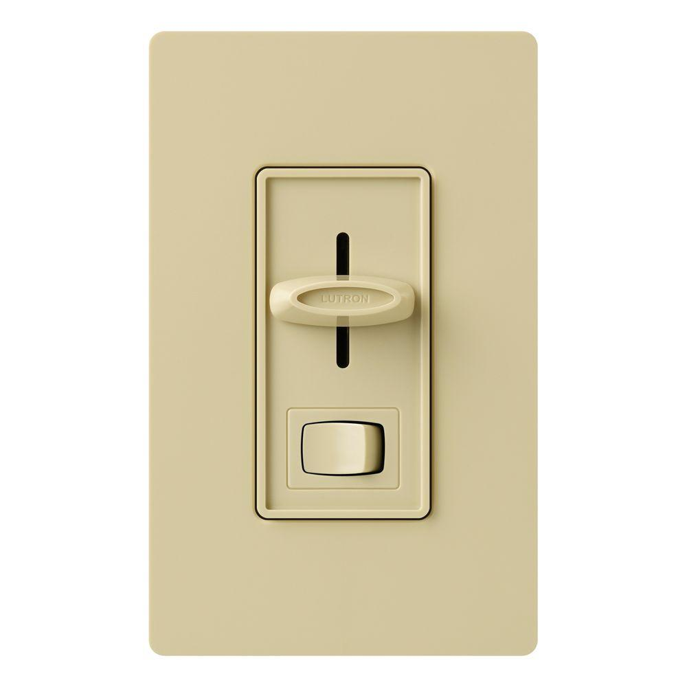 Lutron Skylark 600-Watt 3-Way Dimmer - Ivory