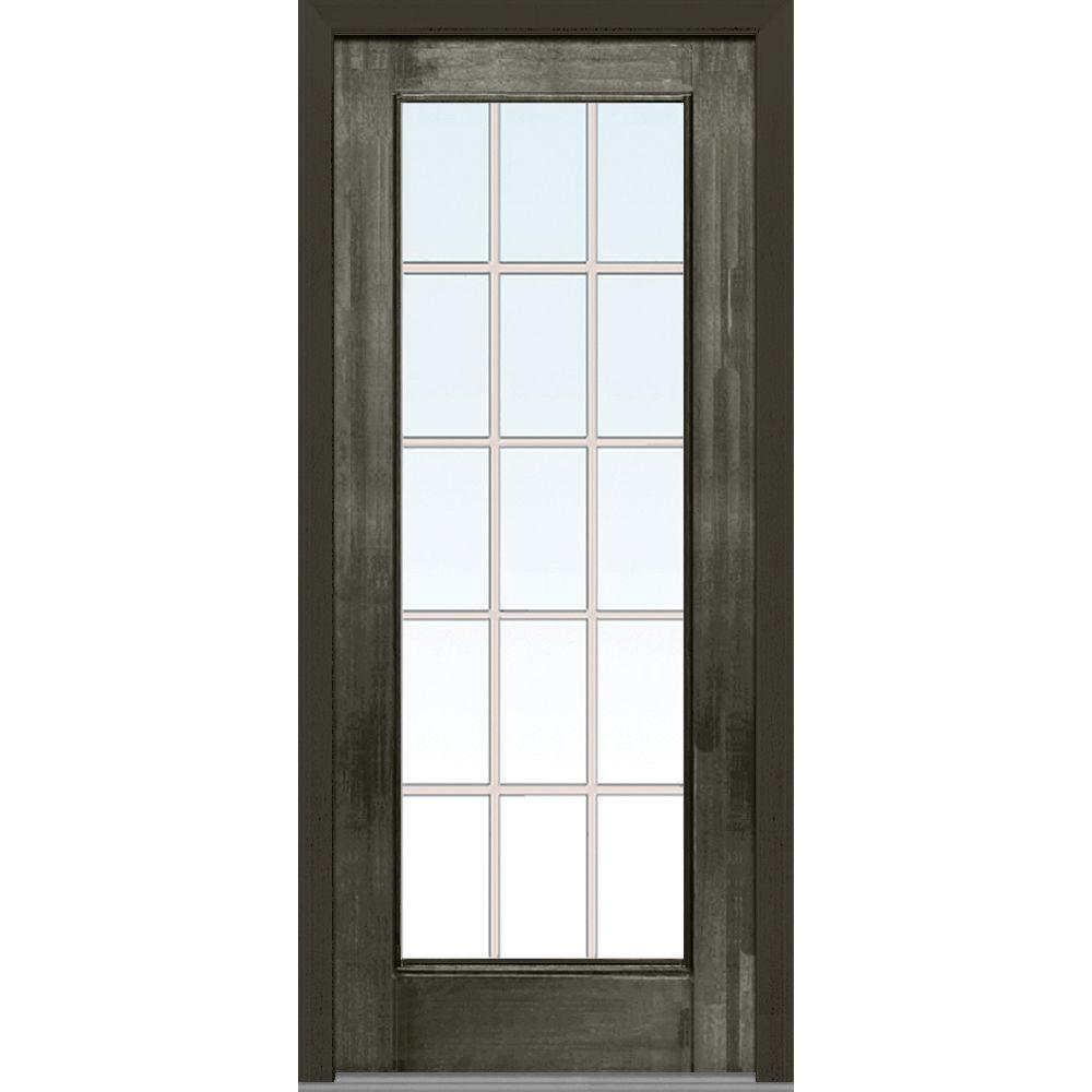 Steves and sons 36 in x 80 in classic epic 1 2 lite for 28 exterior door
