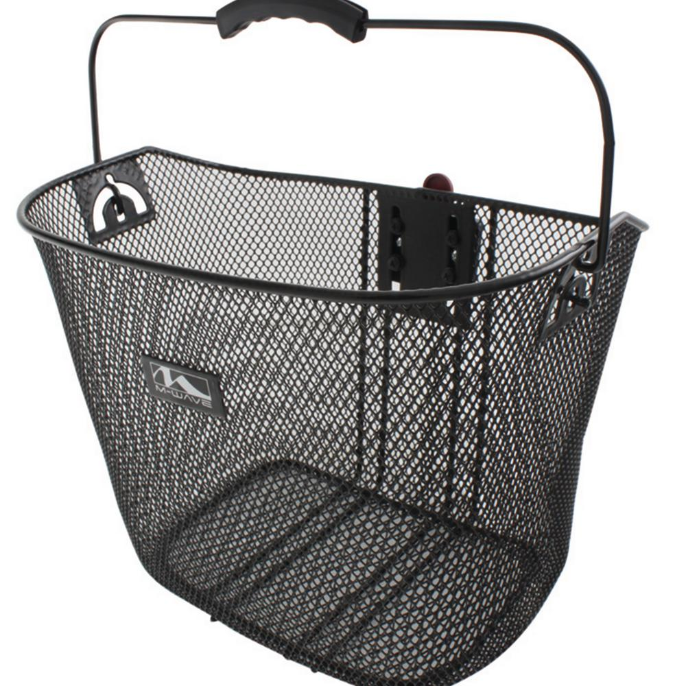 Ventura reinforced quick release wire bicycle basket
