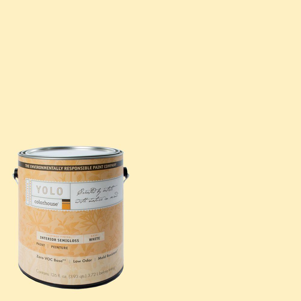 YOLO Colorhouse 1-gal. Grain .01 Semi-Gloss Interior Paint-DISCONTINUED