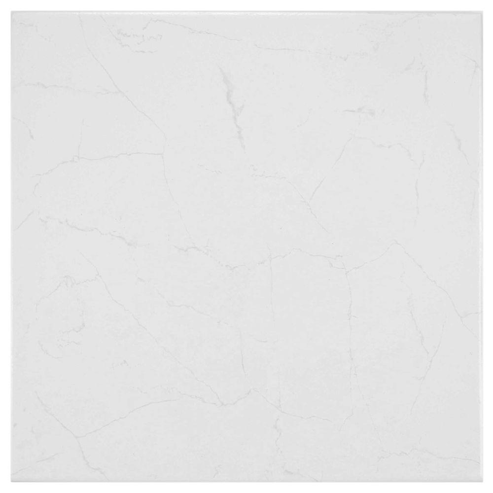 Merola Tile Pichet Solo Branco 13-1/8 in. x 13-1/8 in. Ceramic Floor and Wall Tile (11 sq. ft. / case)-DISCONTINUED