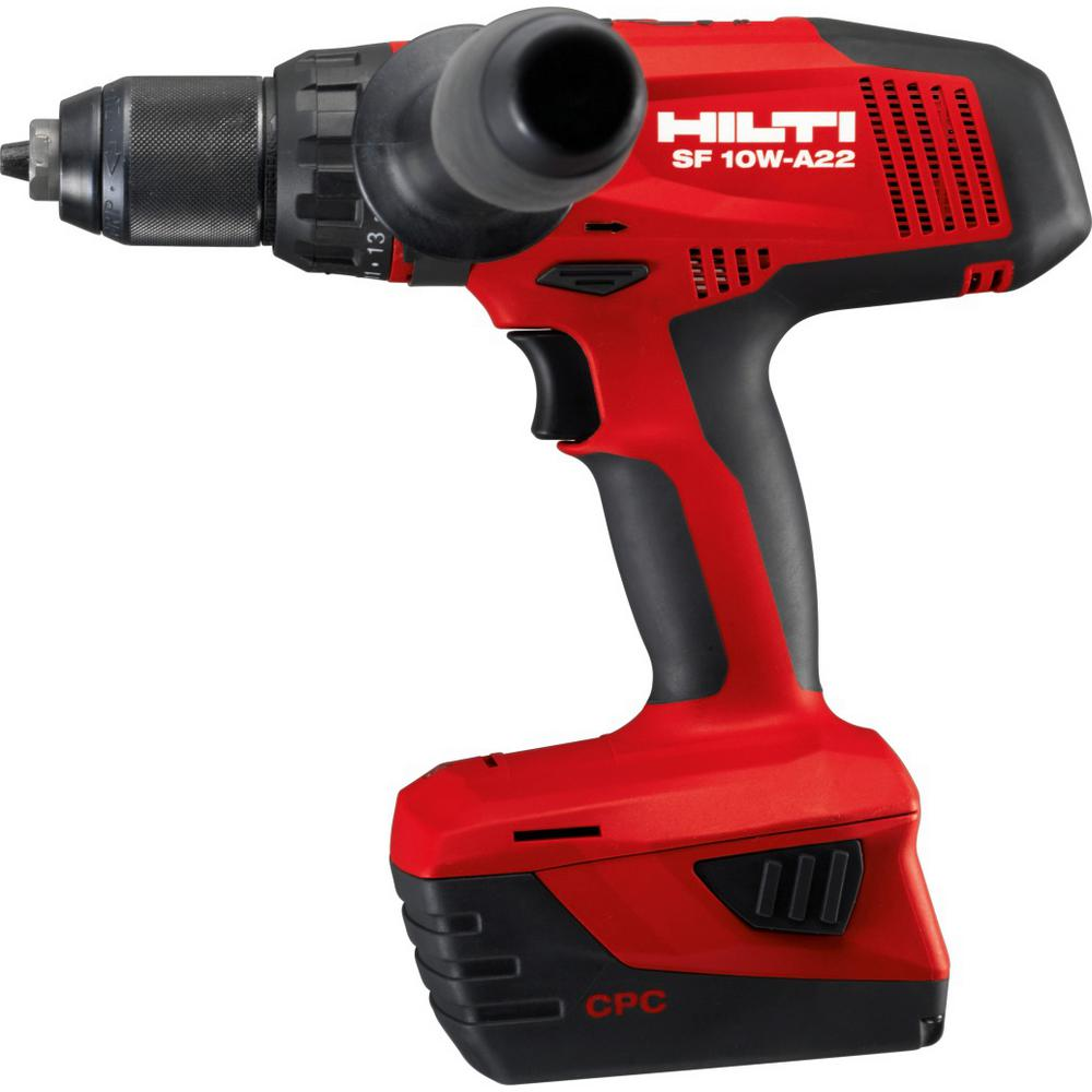 22-Volt Lithium-Ion 1/2 in. Cordless High Torque Drill Driver SF 10W