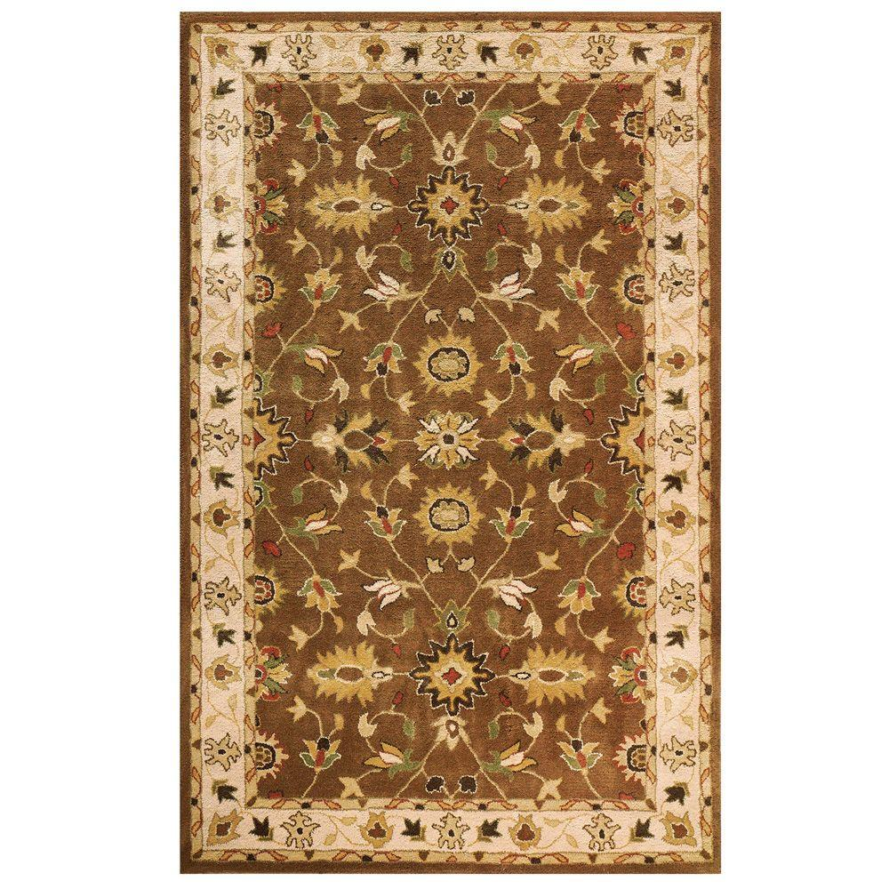 Home Decorators Collection Thornbury Brown and Beige 5 ft. x 8 ft. Area Rug