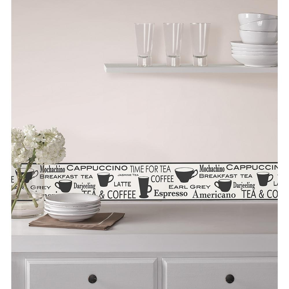 Diner Peel and Stick Wallpaper Border