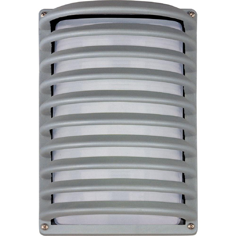 Maxim Lighting Zenith Energy Efficient 1-Light Platinum Outdoor Wall