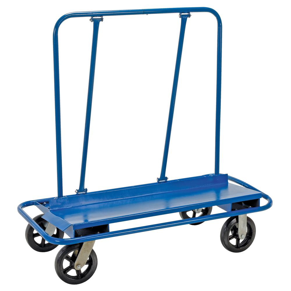 Vestil 3,000 lb. Capacity Drywall/Panel Cart with Rubber Wheels