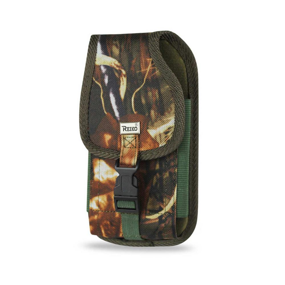 Large Vertical Rugged Holster in Army Green