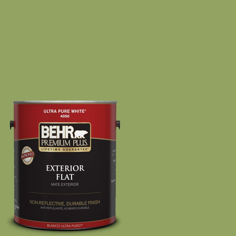 Home Decorators Collection 1-gal. #HDC-MD-15 Zesty Apple Flat Exterior Paint