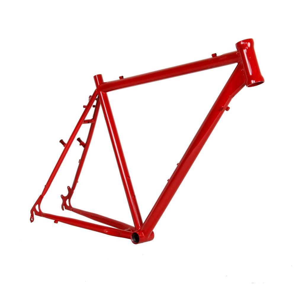 cycle force 58 cm cro mo cyclocross frame cf 930014058 the home depot