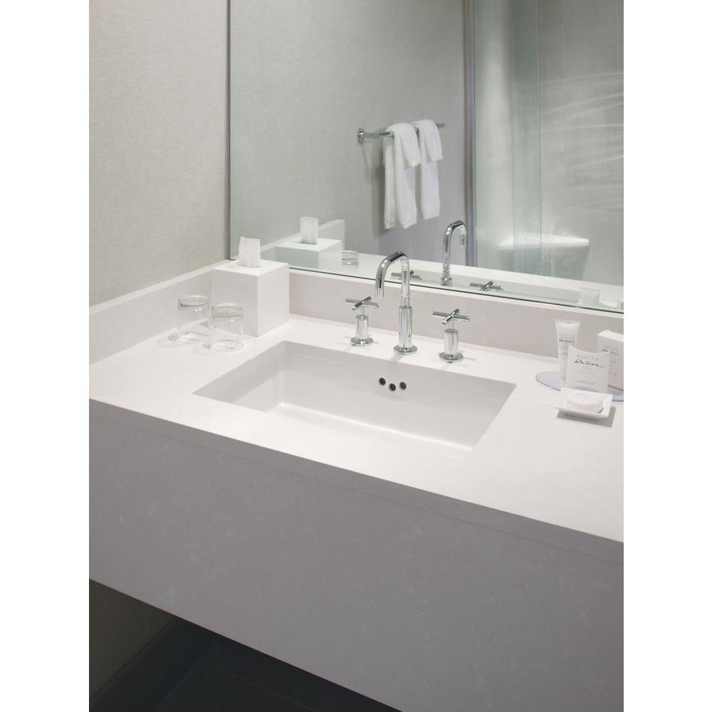 KOHLER Kathryn Vitreous China Undermount Bathroom Sink in White with Overflow Drain K 2330 0   The Home Depot. KOHLER Kathryn Vitreous China Undermount Bathroom Sink in White