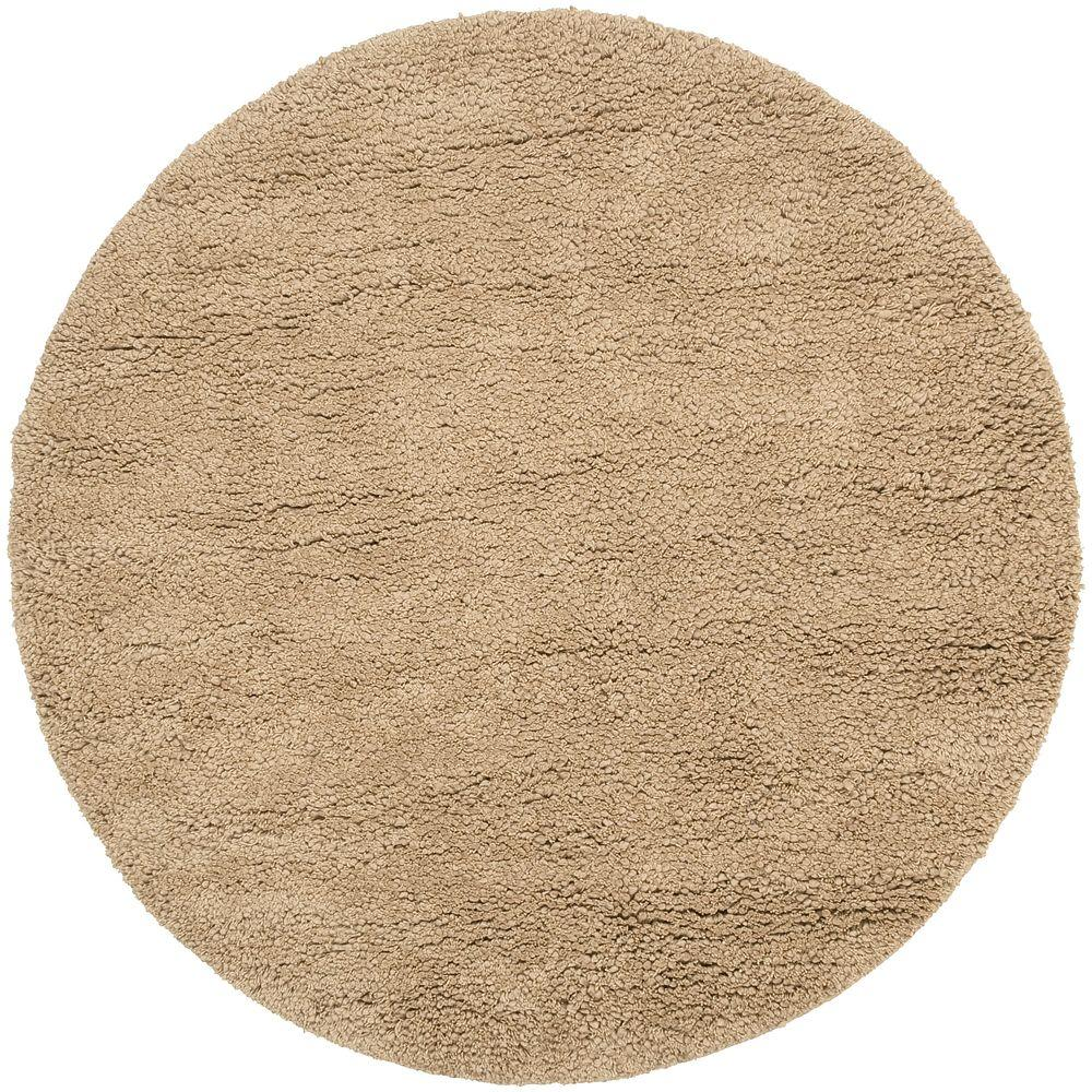 Artistic Weavers Couderay Tan 8 ft. x 8 ft. Round Area Rug