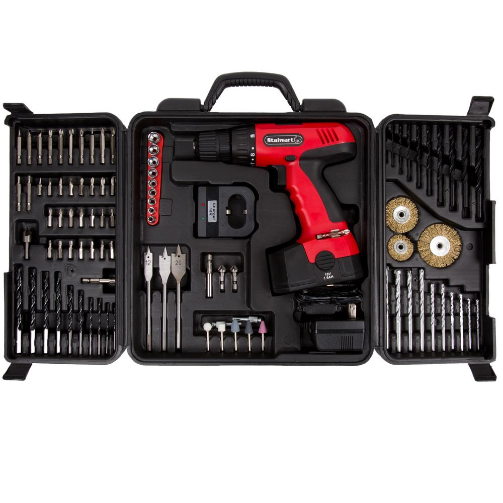18-Volt Ni-Cd Battery 3/8 in. Cordless Drill Set