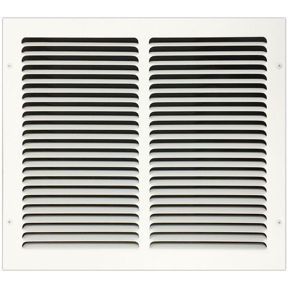 14 in. x 12 in. Return Air Vent Grille with Fixed