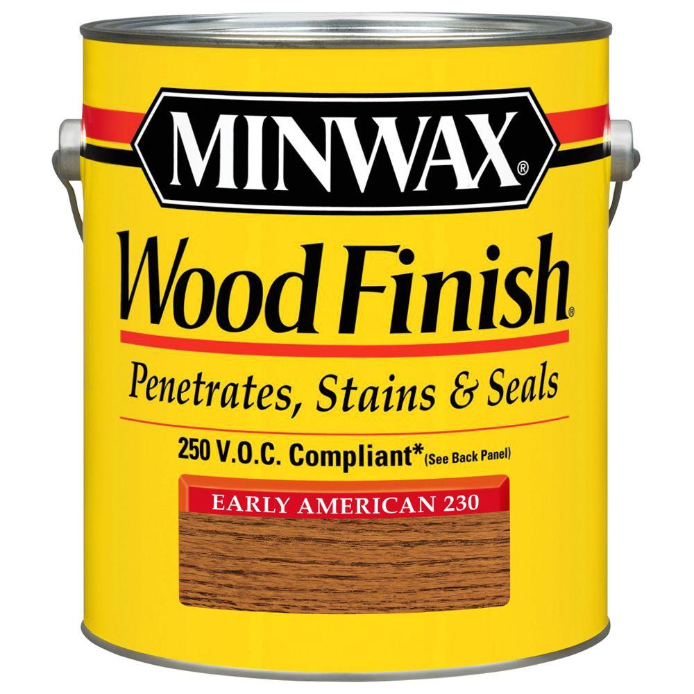 Minwax 1 gal. Early American Wood Finish 250 VOC Oil-Based Interior