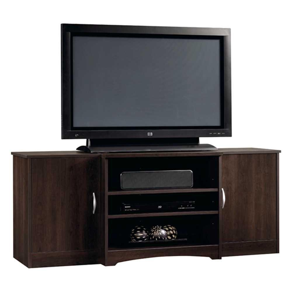 Beginnings Collection 42 in. Entertainment Credenza in Cinnamon Cherry