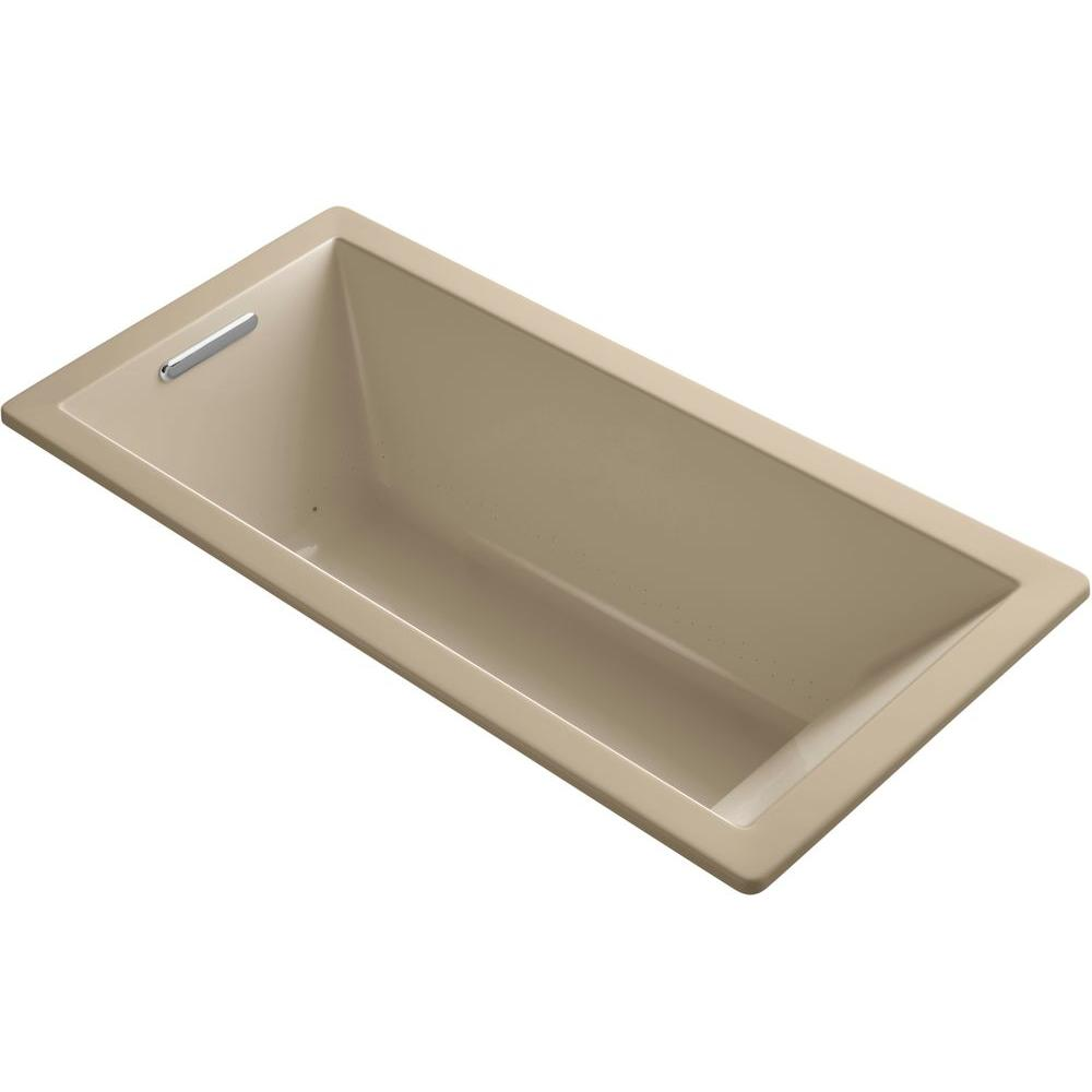 KOHLER Underscore 5.5 ft. Air Bath Tub in Mexican Sand-K-1822-GVB-33 -