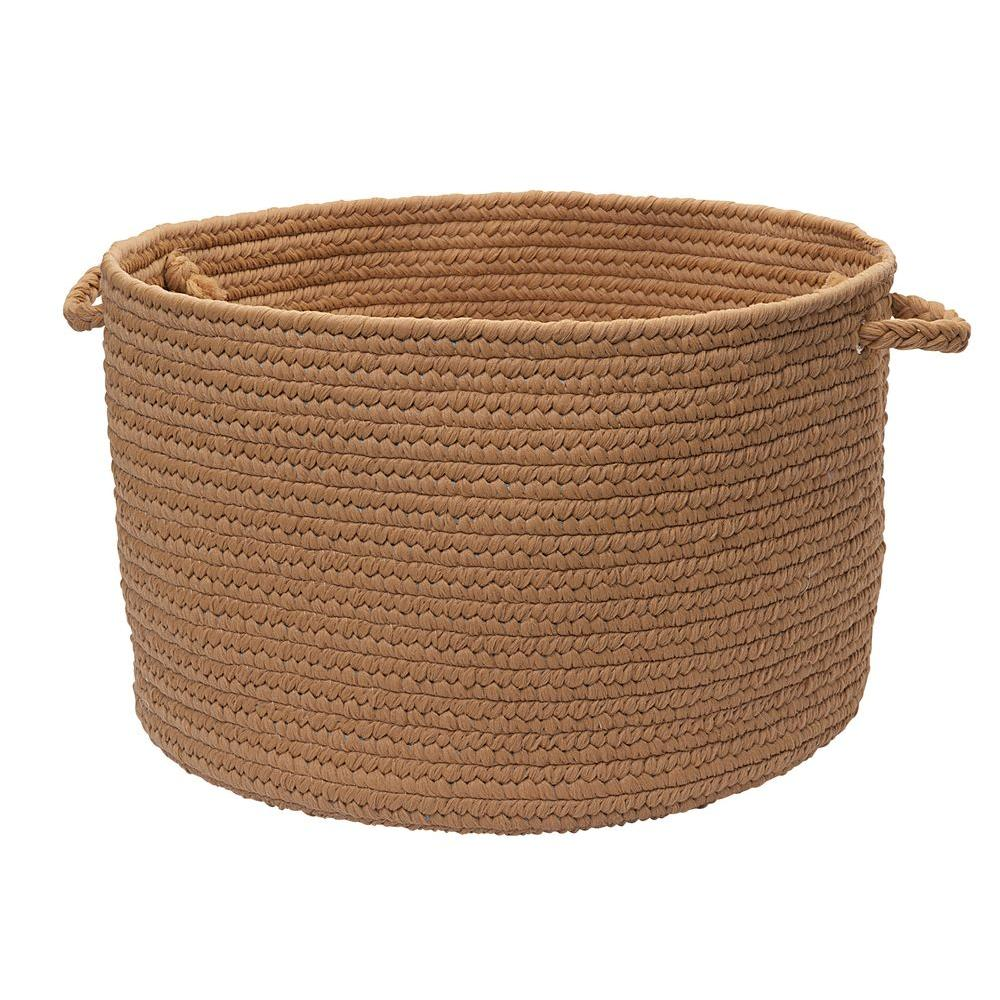 Colonial Mills Brooklyn Amber Way 14 in. x 10 in. Utility Basket