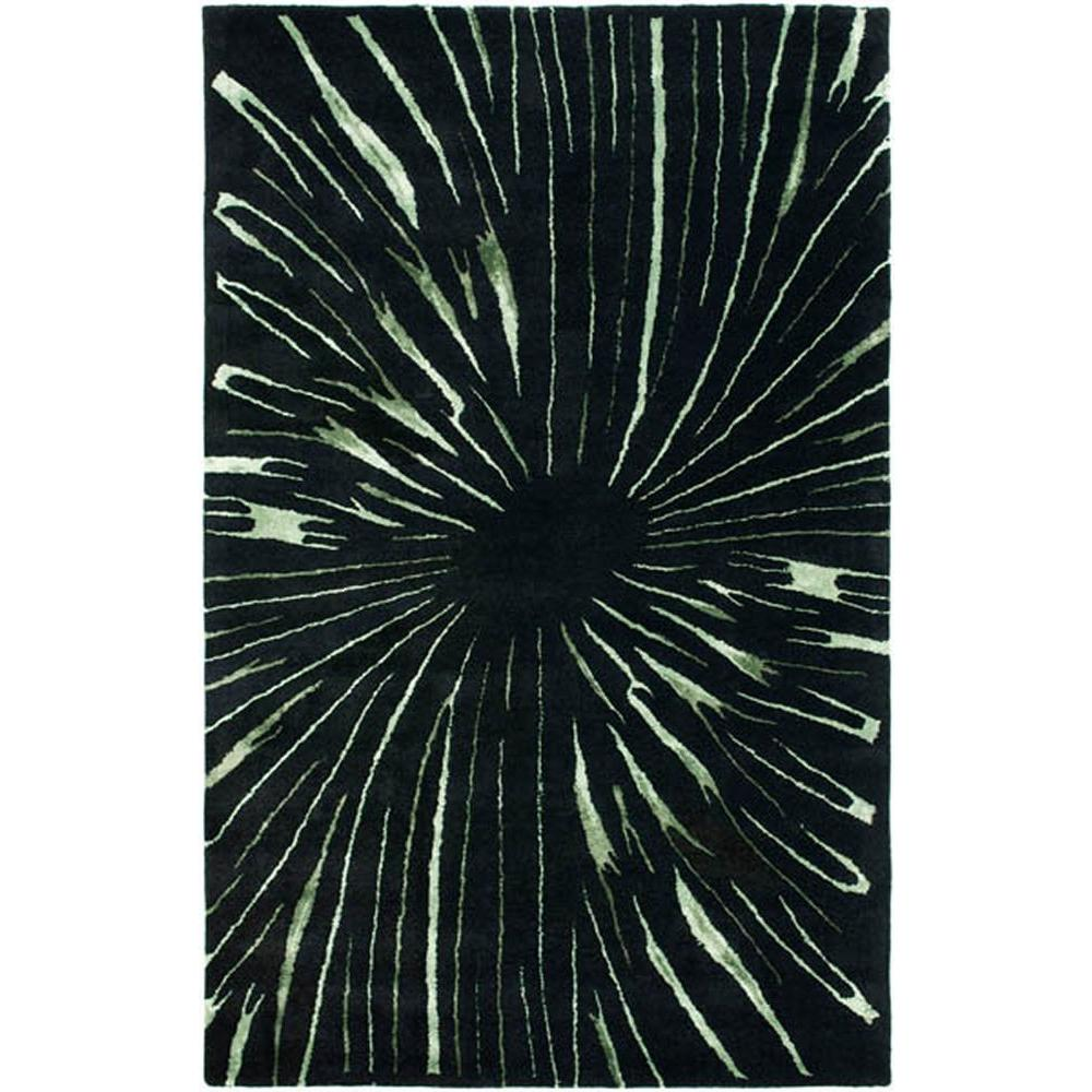 Safavieh Soho Black/Multi 5 ft. x 8 ft. Area Rug