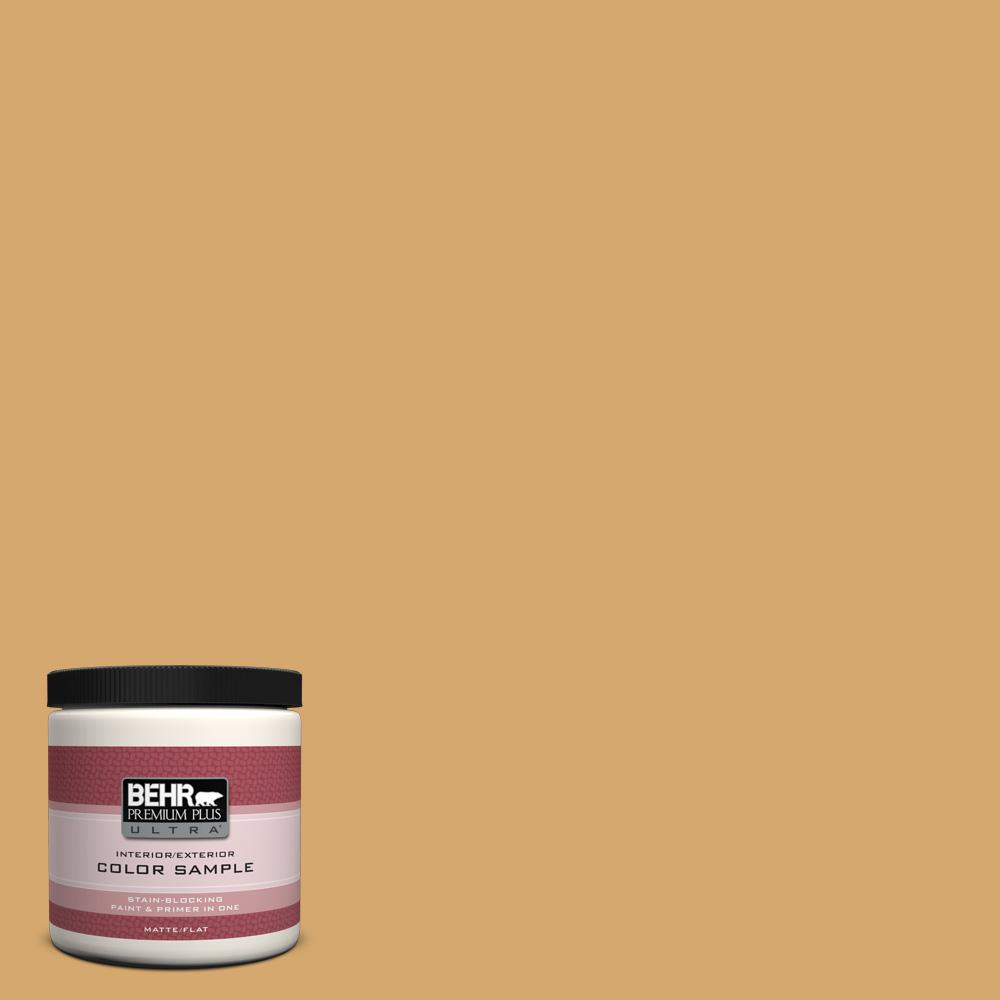 BEHR Premium Plus Ultra 8 oz. #ICC-70 Flower Field Interior/Exterior Paint