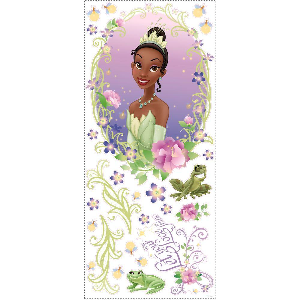 RoomMates Princess and Frog Peel and Stick Medallion-DISCONTINUED