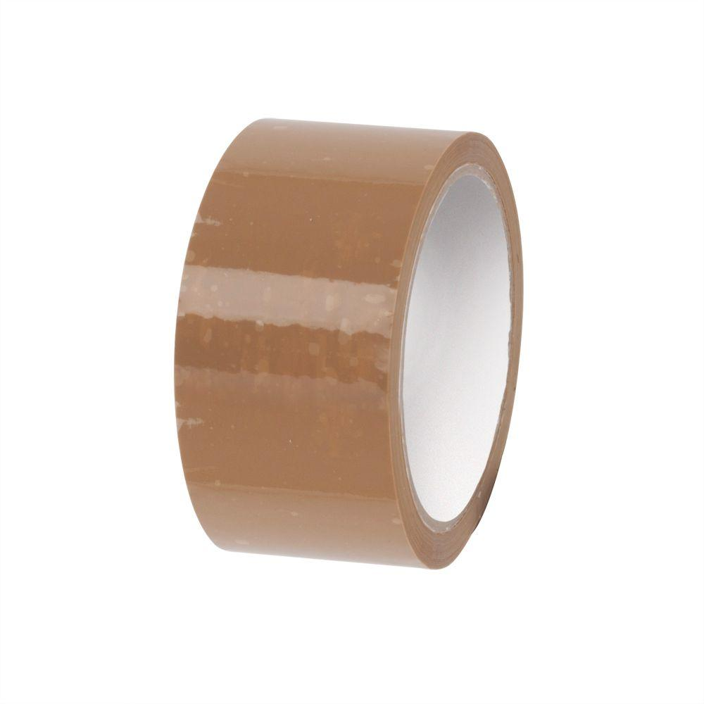2 in. x 110 yds. Tan Economy Hot Melt Tape (6-Pack)