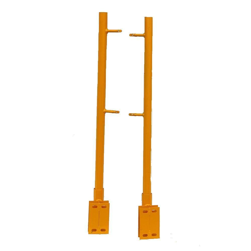 42 in. Scaffold Guard Posts (2-Pack)