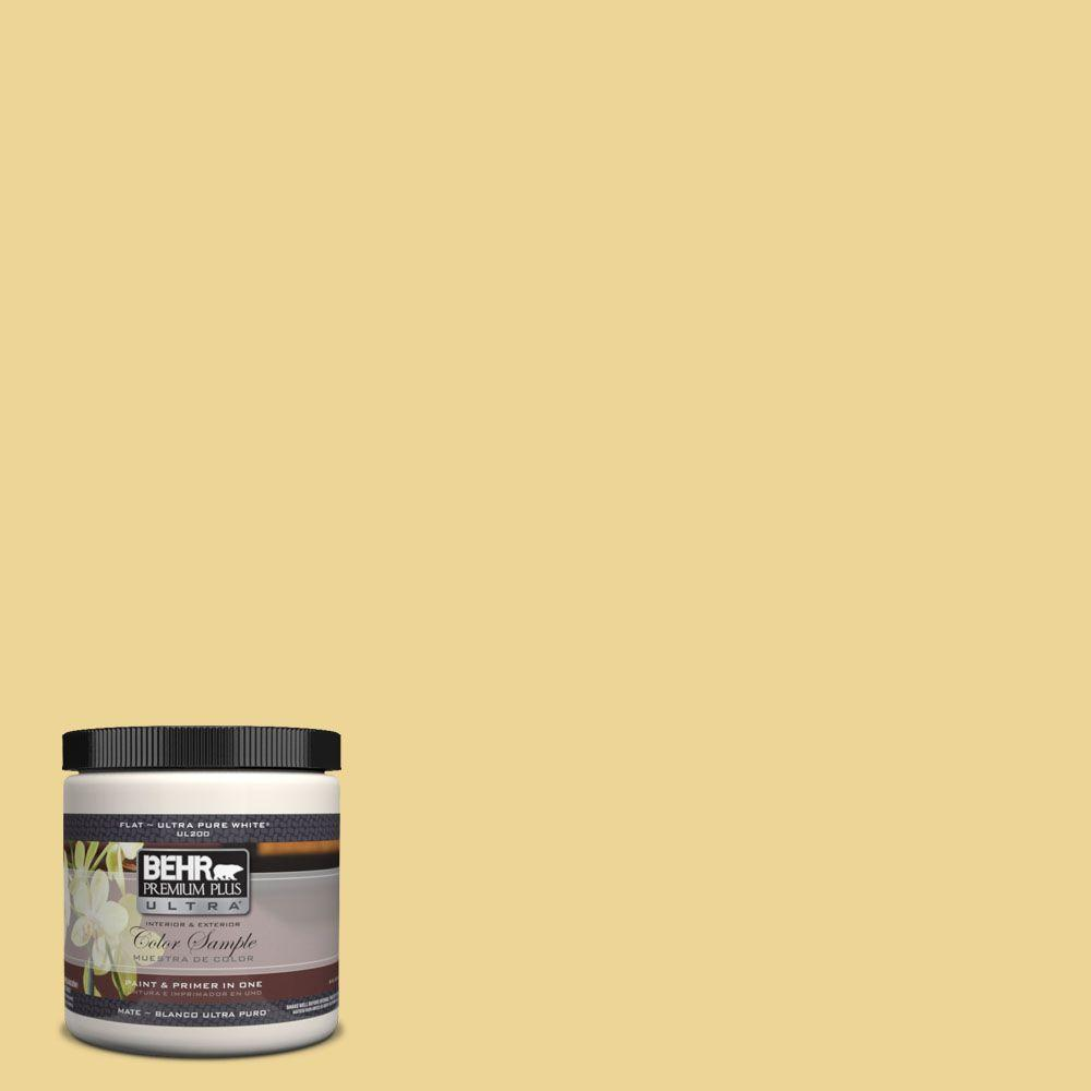 8 oz. #370D-4 Mustard Seed Interior/Exterior Paint Sample
