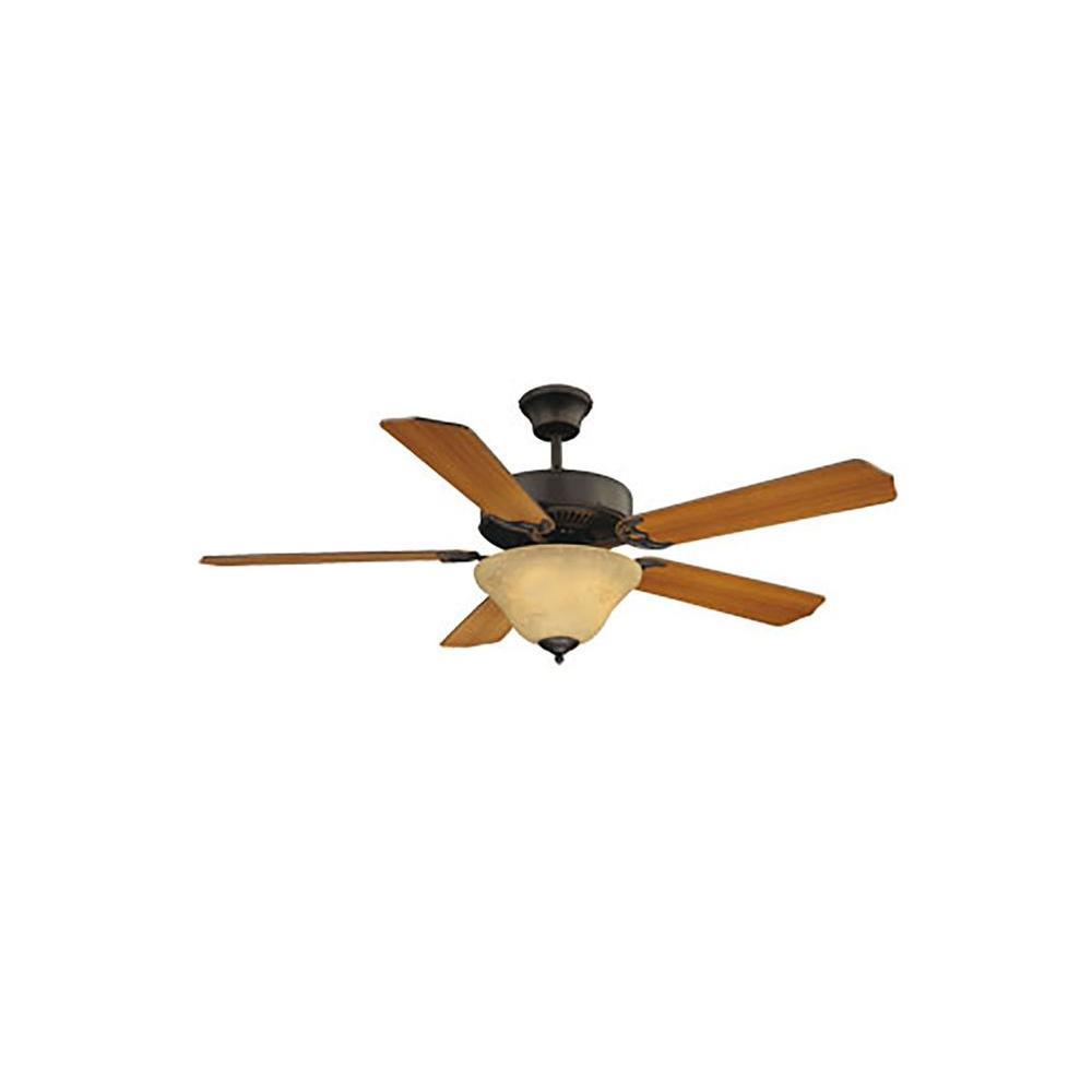 Illumine Manford 52 in. English Bronze Indoor Ceiling Fan-CLI-SH0234125 - The