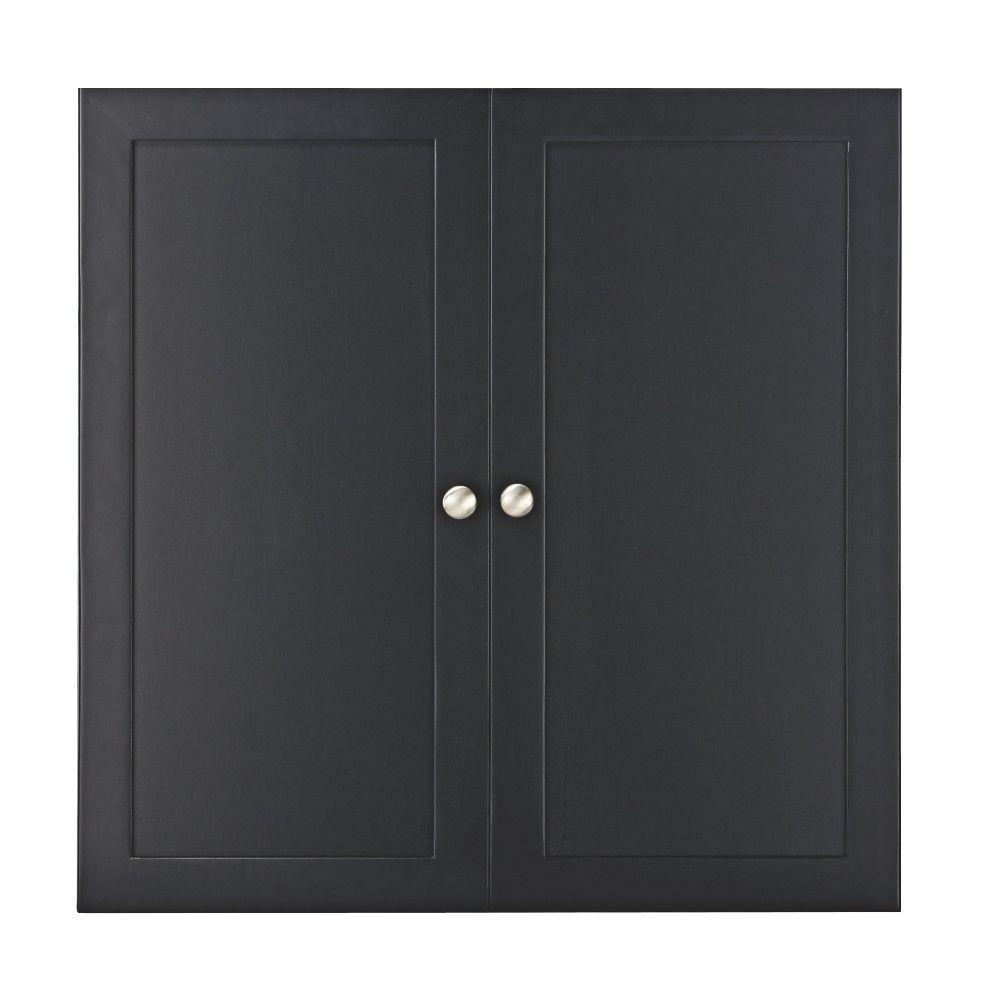 Home Decorators Collection Baxter 24 In H X 12 In W Solid Wood Reversible Panel Insert Doors