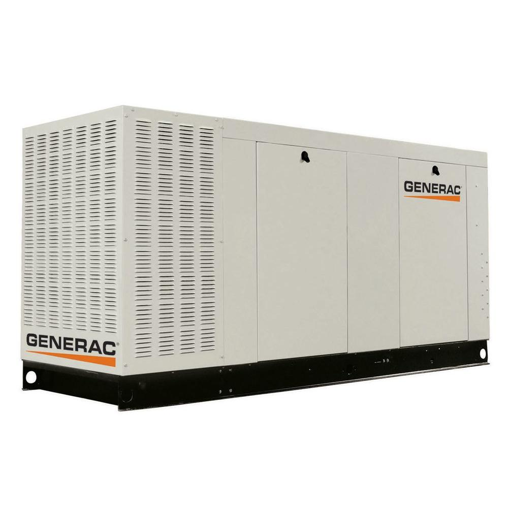 80,000-Watt Liquid-Cooled Standby Generator