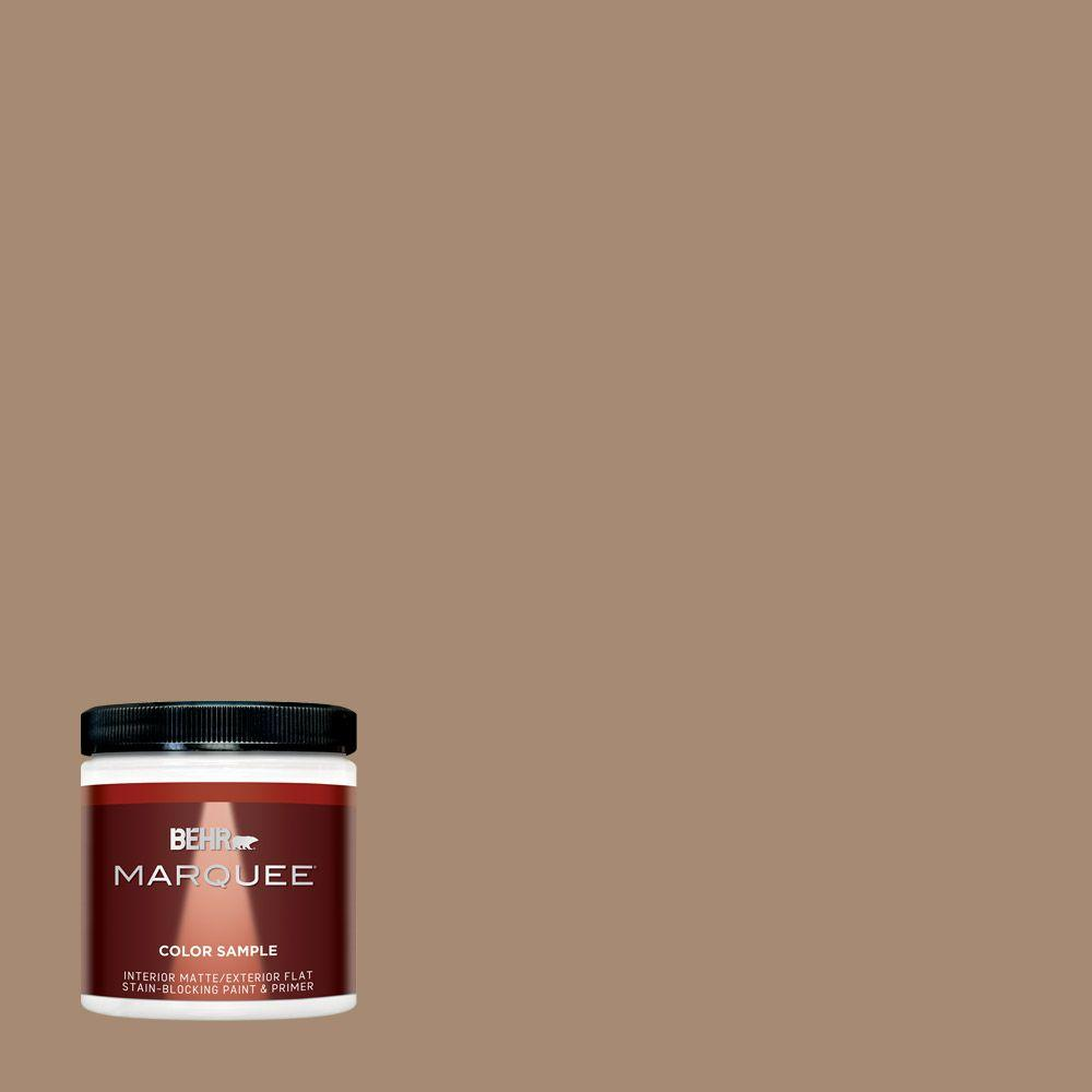 BEHR MARQUEE 8 oz. #N260-5 Distant Land One-Coat Hide Interior/Exterior Flat/Matte Paint Sample