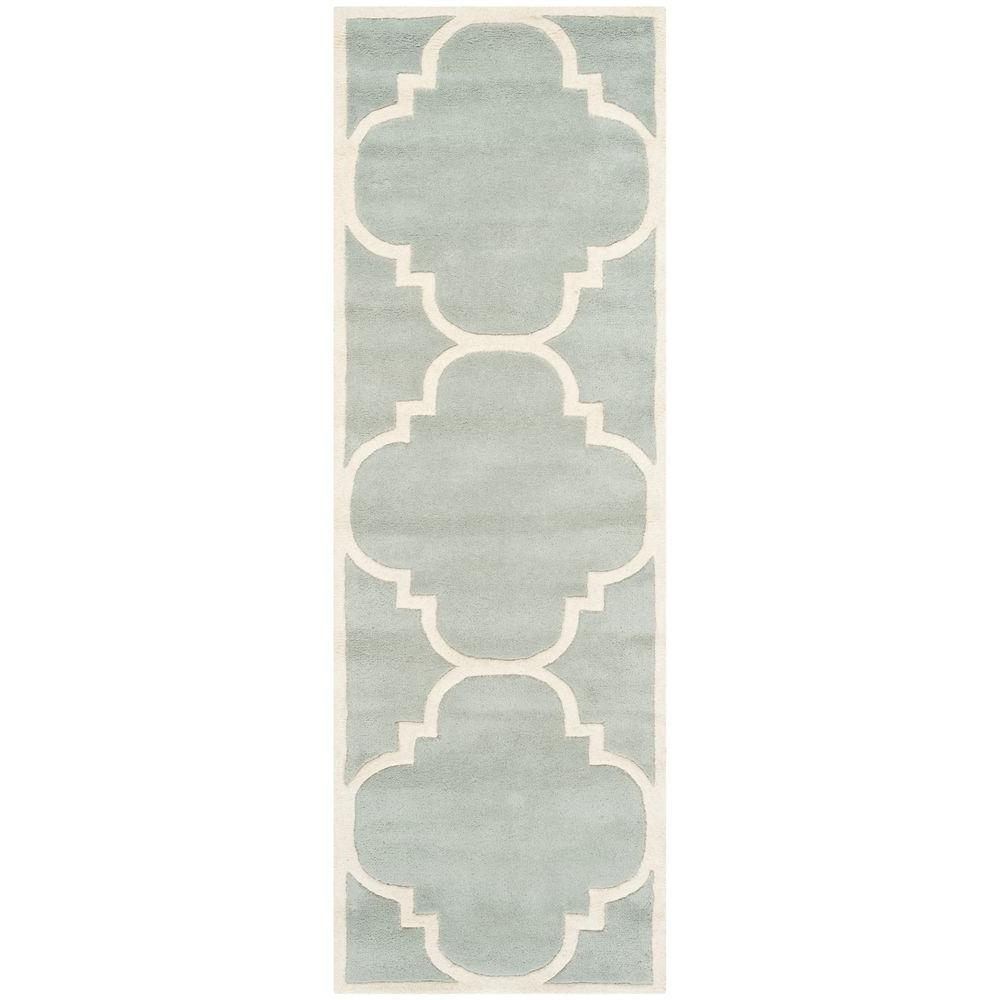 Chatham Grey/Ivory 2 ft. 3 in. x 13 ft. Runner