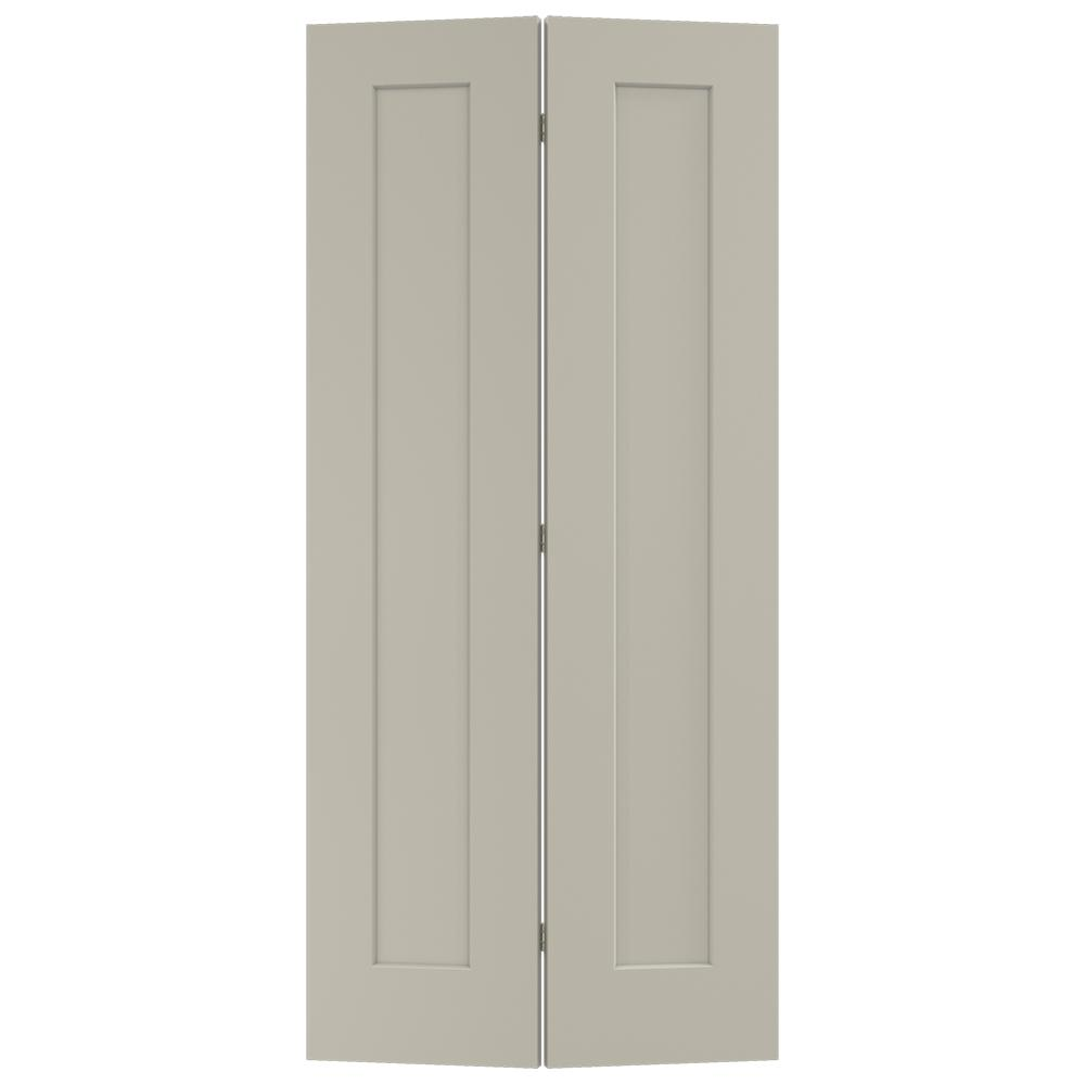 36 in. x 80 in. Madison Desert Sand Painted Smooth Molded