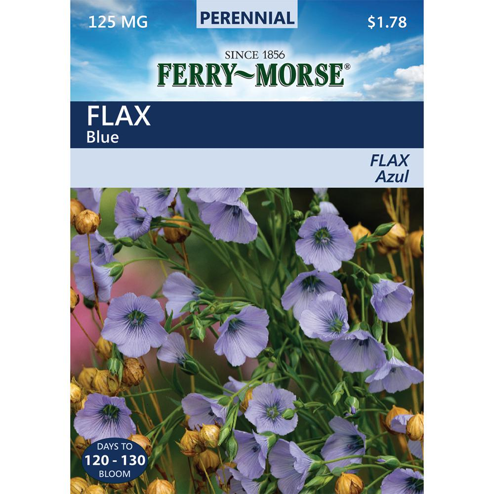 Ferry-Morse Flax Blue Seed-5932 - The Home Depot