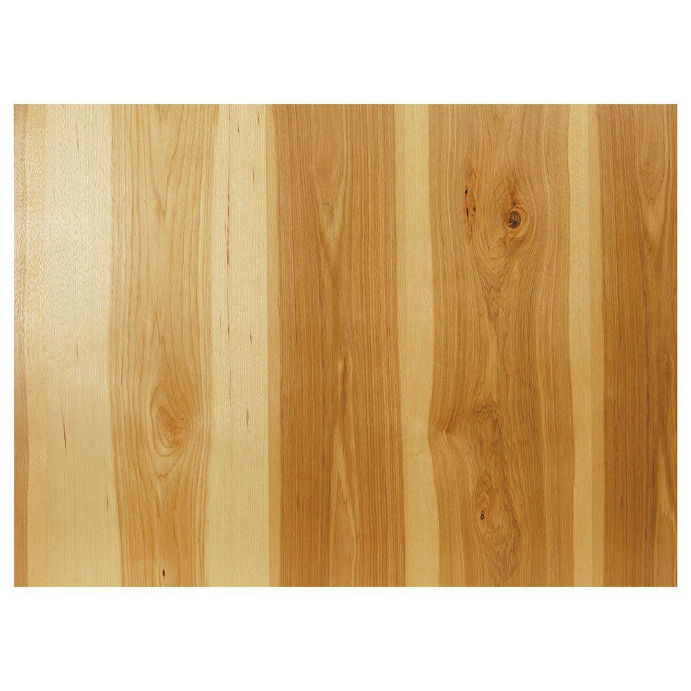 0.1875x34.5x48 in. Decorative End Panel in Natural Hickory