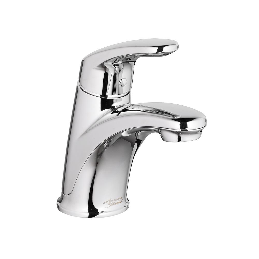 Colony Pro Single Hole Single-Handle Bathroom Faucet with 50/50 Pop-Up Drain