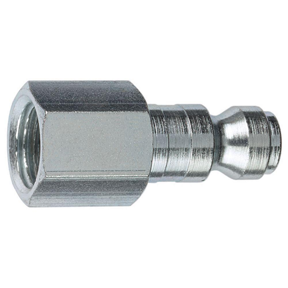 1/4 in. FNPT x 1/4 in. Auto Steel Plug